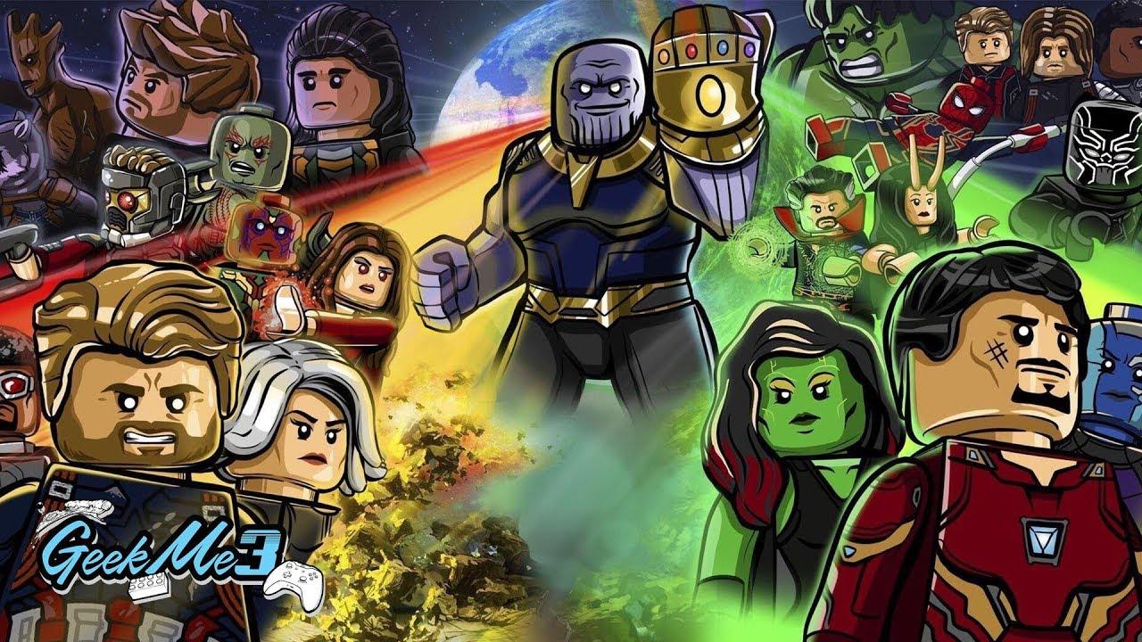 Avengers Infinity War En Lego Je Vous Raconte Le Film Youtube