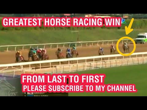 GREATEST HORSE RACING WIN EVER