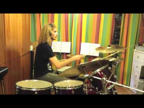 Crucified Barbara / I sell my kids for Rock'n'Roll / Drum cover