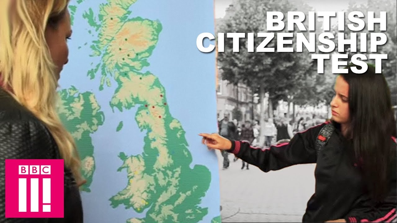 British Citizenship Test How Well Do Brits Know Their Geography