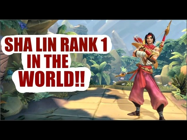 SHA LIN - PALADINS (RANK 1 IN THE WORLD) | Paladins Sha Lin GamePlay