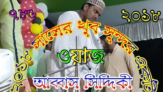 Pirzada Abbas Siddiqui jalsa 2018  পীরজাদা আব্বাস সিদ্দিকী জলসা ২০১৮