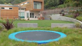 Backyard Trampoline Ideas - In-Ground Trampoline