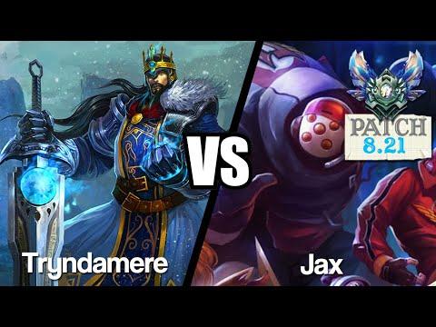 Vidéo d'Alderiate : [FR] TRYNDAMERE VS JAX - LE MATCH UP MYTHIQUE - 8.21 - DIAMANT 1