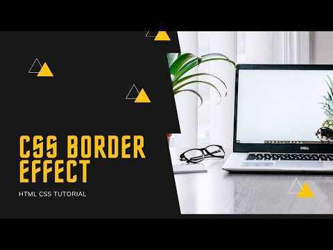 Creative Border on Image | HTML CSS Tutorial