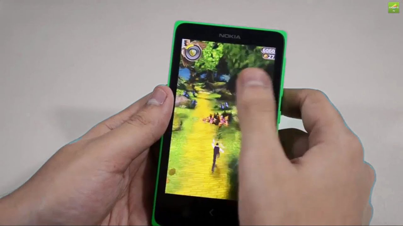 Nokia X In Depth Game Review Playing Real Football 2014 Highway Xl Yellow Rider Temple Run Oz Youtube