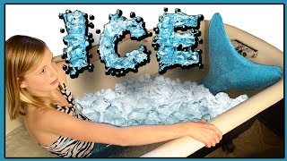 ICE BATH Challenge | FIN FUN Mermaids!