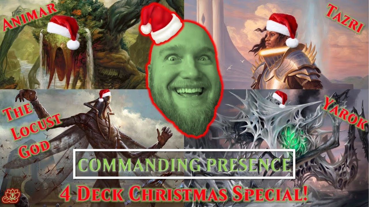 Download Animar, The Locust God, Yarok, and Tazri Throw a Christmas Party! | Commanding Presence