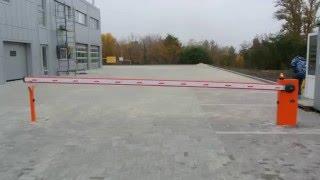 Автоматический шлагбаум Nice Will6(, 2016-01-27T16:32:31.000Z)