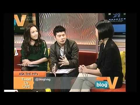 BlogTV: Face to face with Tin Pei Ling & Vikram Nair Pt1/2 - 26Oct2011