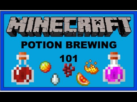 how to make a potion brewing stand in minecraft