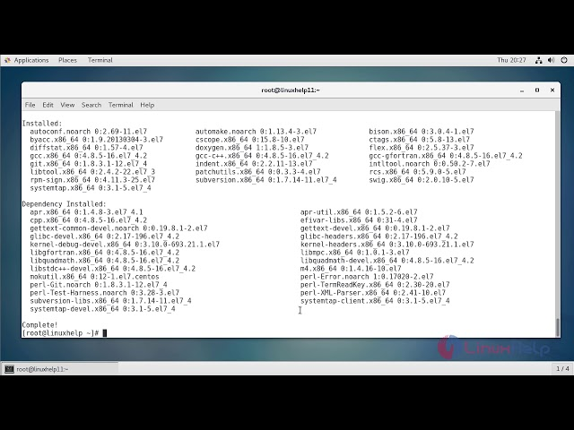 How to install Development tools on Linux   LinuxHelp Tutorials