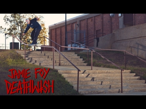 Thrasher Magazine Jamie Foy's Welcome to Deathwish Part