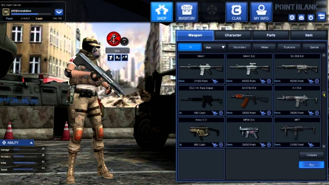 ongame point blank revolution