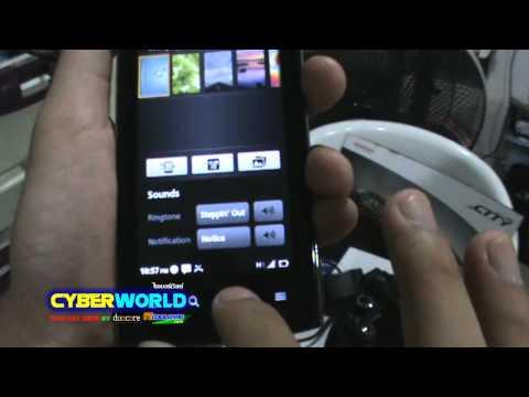 Cyberworld review acer liquid metal part1