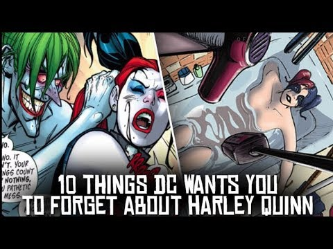 10 Things DC Wants You To FORGET About Harley Quinn!