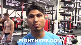 MIKEY GARCIA REACTS TO FLOYD MAYWEATHER'S DESIRE TO SIGN HIM; REVEALS FUTURE PLANS AND RING RETURN