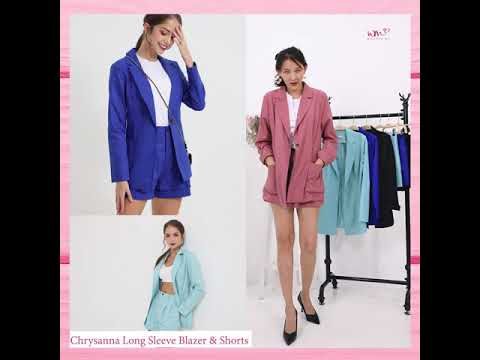 Chrysanna Set (Blazer + Shorts)