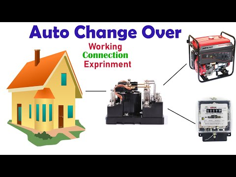 Automatic Change Over Connection With Experiment