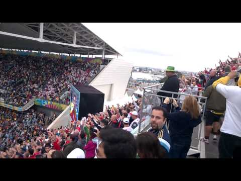 World Cup 2014 - God Save the Queen - São Paulo Arena