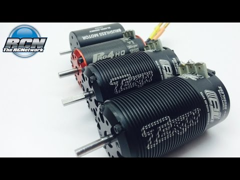 Tekin 1/10th and 1/8th Scale Motor Compare