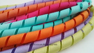 Everything you need to know to make korker ribbon! I show you how t...