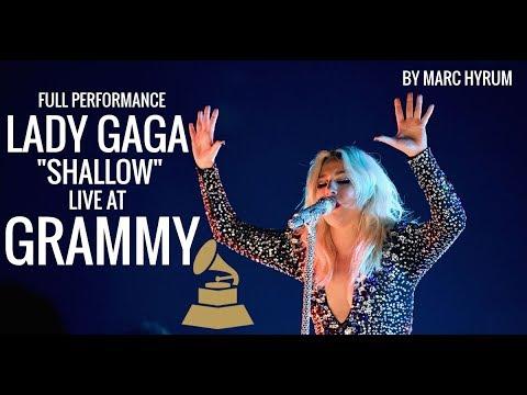"Lady Gaga ""Shallow""  At Grammy 61st"
