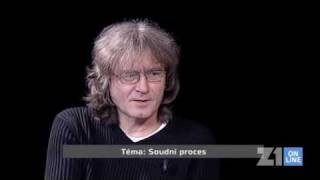 Interview BT, host: Bohumil Kulinský (Delikty na dětech)