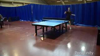 Трюки по настольному теннису
