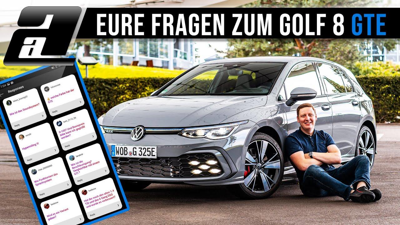 Golf 8 Gte Eure Instagram Fragen Zum 245ps Hybrid Special Youtube