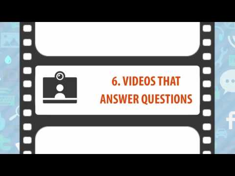 10 Content Ideas for Creating Marketing Videos to Promote your Business Online