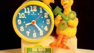 Big Bird Talking Alarm Clock.wmv