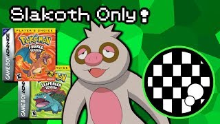 Can You Beat Pokemon FireRed/LeafGreen With Only a Slakoth? thumbnail