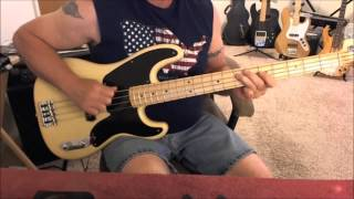The Blues Brothers - Soul Man - Bass Cover