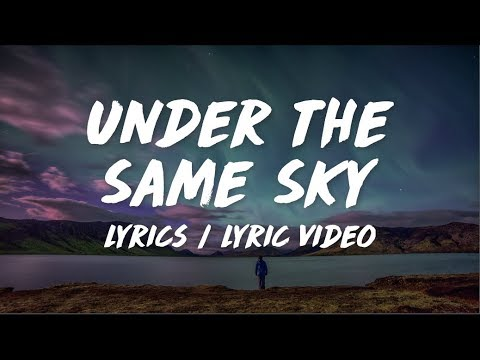 Max Vanfleet - Under The Same Sky (Lyrics / Lyric Video) (feat. Scarlet)