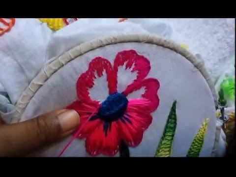Embroidery Flower Stitch