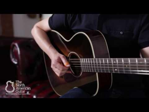 Bourgeois OM Vintage Sunburst Acoustic Guitar - Played by Stuart Ryan (Part 1)
