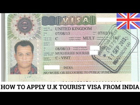 HOW TO APPLY UK TOURIST VISA FROM INDIA || STEP BY STEP GUIDE