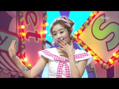 SECRET - Shy Boy, 시크릿 - 샤이보이, Music Core 20110108