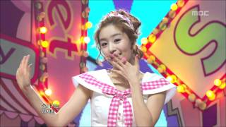 SECRET - Shy Boy, 시크릿 - 샤이보이, Music Core 20110108