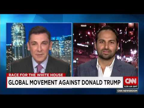Thumbnail: Avaaz's Ricken Patel vs Donald Trump on CNN
