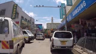 Kenya Nairobi Centre ville, Gopro / Kenya Nairobi City center, Gopro