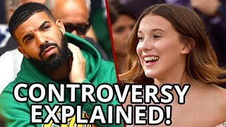 Video Millie Bobby Brown DEFENDS Drake Relationship download MP3, 3GP, MP4, WEBM, AVI, FLV September 2018
