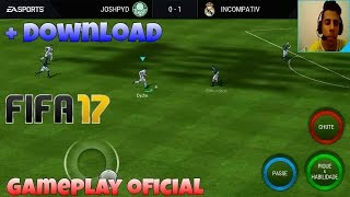 FIFA 17 MOBILE (Android/IOS) gameplay HD-Conferindo o game + download