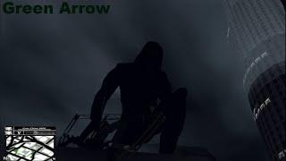 GTA SA   Green Arrow + NEW BOW MODEL   CLEO MOD