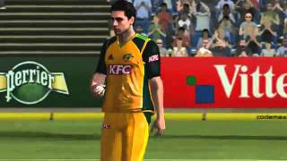 International Cricket 2011 Video Game play