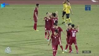 Highlights   U18 Việt Nam - U18 Malaysia   Sống còn những phút cuối   BLV Quang Huy