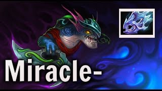Miracle- When the game come hard - Slark comeback Dota 2 Gameplay Highlights 8K  MMR