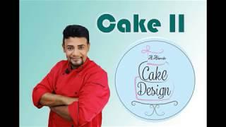 Curso de Cake Designer II (Próximas turmas em outubro e novembro) / Chef Alexandre Alarcão