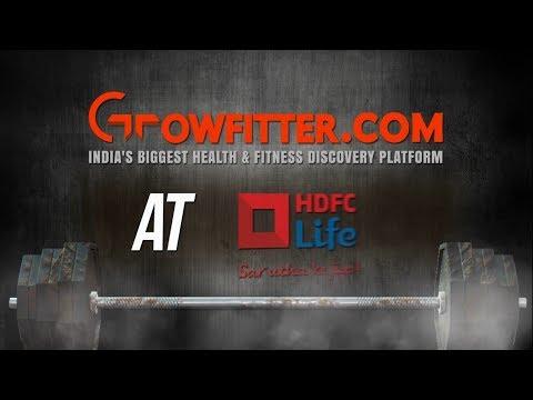 Growfitter.com Corporate Wellness Program at HDFC Life HO Mumbai